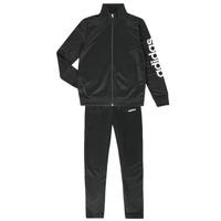 Kleidung Jungen Jogginganzüge adidas Performance GOMEZ Schwarz