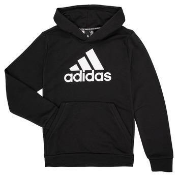 Kleidung Jungen Sweatshirts adidas Performance MANEZ Schwarz