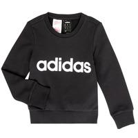 Kleidung Mädchen Sweatshirts adidas Performance MED Schwarz