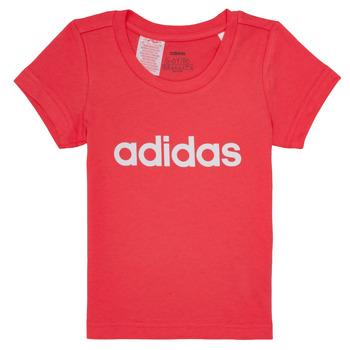 Kleidung Mädchen T-Shirts adidas Performance MAKIT Rose
