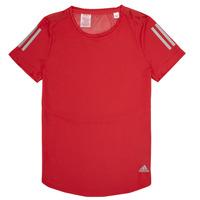 Kleidung Mädchen T-Shirts adidas Performance MELINDA Rot