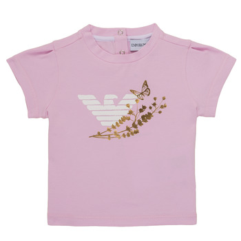 Kleidung Mädchen T-Shirts Emporio Armani Adrian Rose