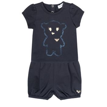 Kleidung Mädchen Kleider & Outfits Emporio Armani Aiden Marine