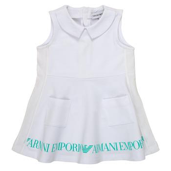 Kleidung Mädchen Kurze Kleider Emporio Armani Apollinaire Weiss