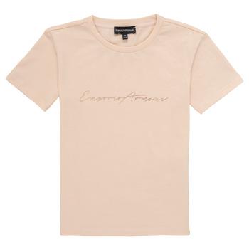 Kleidung Mädchen T-Shirts Emporio Armani Armel Rose