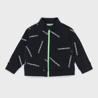 Kleidung Jungen Sweatshirts Emporio Armani Augustin Schwarz