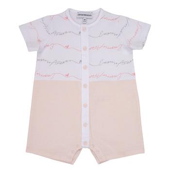 Kleidung Mädchen Overalls / Latzhosen Emporio Armani Adem Rose