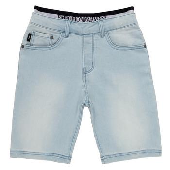 Kleidung Jungen Shorts / Bermudas Emporio Armani Albert Blau