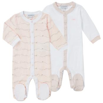 Kleidung Mädchen Pyjamas/ Nachthemden Emporio Armani Alec Rose