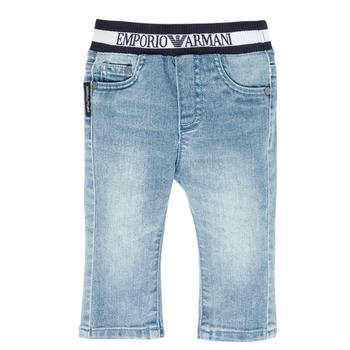 Kleidung Jungen Straight Leg Jeans Emporio Armani Ange Blau