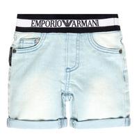 Kleidung Jungen Shorts / Bermudas Emporio Armani Ariel Blau