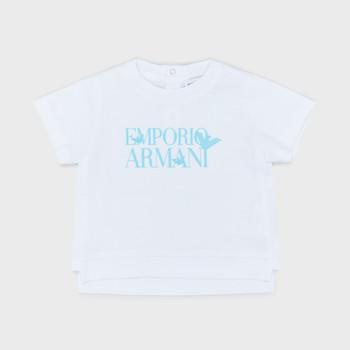 Kleidung Jungen T-Shirts Emporio Armani Arthus Weiss