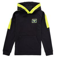Kleidung Jungen Sweatshirts Emporio Armani Abel Marine / Grün
