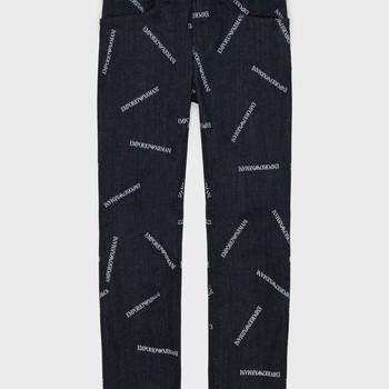 Kleidung Jungen Straight Leg Jeans Emporio Armani Adil Blau