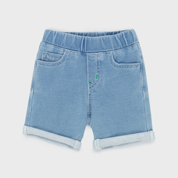 Kleidung Jungen Shorts / Bermudas Emporio Armani Aurélien Blau