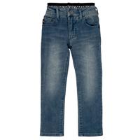 Kleidung Jungen Straight Leg Jeans Emporio Armani Annie Blau