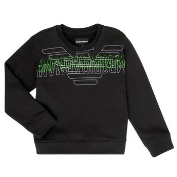 Kleidung Jungen Sweatshirts Emporio Armani Austin Schwarz