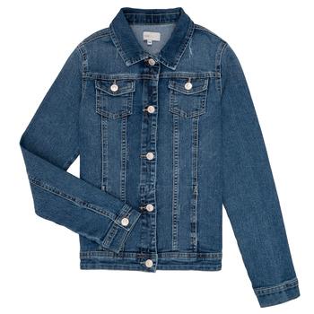 Kleidung Mädchen Jeansjacken Only KONSARA Blau
