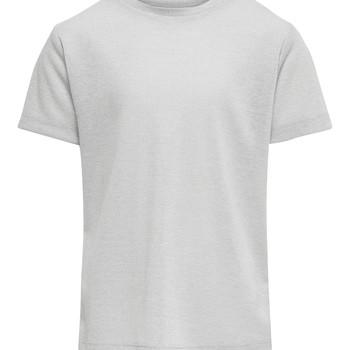 Kleidung Mädchen T-Shirts Only KONSILVERY Silbern