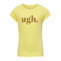 Kleidung Mädchen T-Shirts Only KONJULLA Gelb