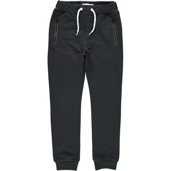Kleidung Jungen Jogginghosen Name it NKMHONK Schwarz