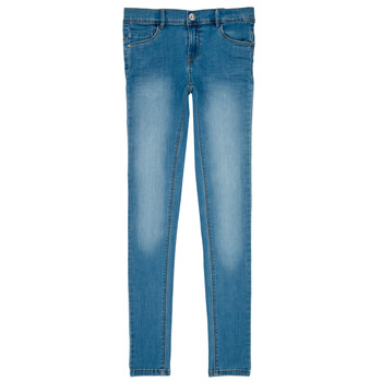 Kleidung Mädchen Slim Fit Jeans Name it NKF POLLY DNMTASIS Blau
