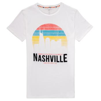 Kleidung Jungen T-Shirts Name it NKMDPOPS Weiss