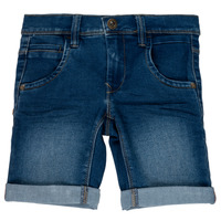 Kleidung Mädchen Shorts / Bermudas Name it NKMSOFUS Blau