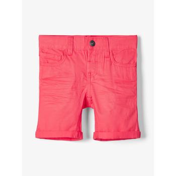 Kleidung Jungen Shorts / Bermudas Name it NMMSOFUS TWIISKA Rot