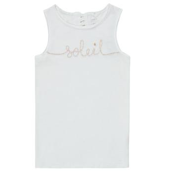Kleidung Mädchen Tops Name it NKFFAMILA Weiss