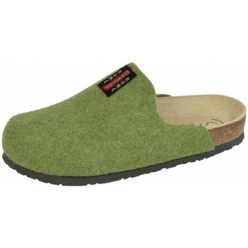 Schuhe Hausschuhe Weeger Hausschuh Art.41550-70 PANTOFFEL lind