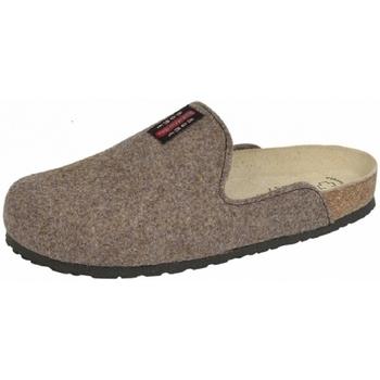 Schuhe Hausschuhe Weeger Hausschuh Art.41550-41 PANTOFFEL moro