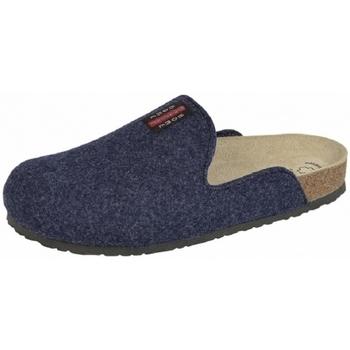 Schuhe Hausschuhe Weeger Hausschuh Art.41550-30 PANTOFFEL marine