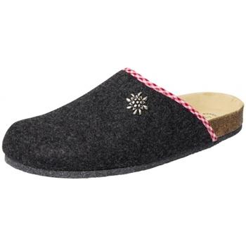 Schuhe Hausschuhe Weeger Filz-Hausschuh Art. 41545-23 anthrazit