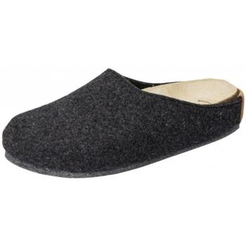 Schuhe Hausschuhe Weeger HausschuhArt. 48100-23 Wechselbettung anthrazit