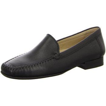 Schuhe Damen Slipper Sioux Slipper 63101 schwarz