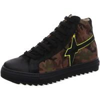 Schuhe Jungen Sneaker High W6yz High Bimbo 1A18-001-2501706-02 schwarz