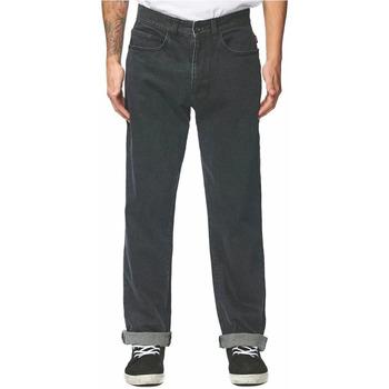 Kleidung Herren Straight Leg Jeans Globe GB01816020 Schwarz