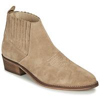 Schuhe Damen Low Boots André MANA Maulwurf
