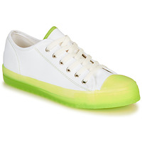 Schuhe Damen Sneaker Low André HAIZEA Grün