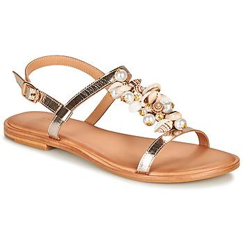 Schuhe Damen Sandalen / Sandaletten André PATTI Beige