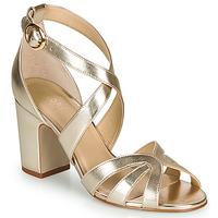 Schuhe Damen Sandalen / Sandaletten André VIGNE Gold