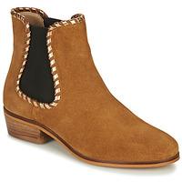 Schuhe Damen Low Boots André BRETT Camel