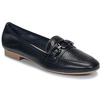 Schuhe Damen Slipper André MAYRA Marine