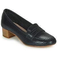 Schuhe Damen Slipper André MICHELLE Marine