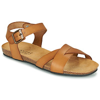 Schuhe Damen Sandalen / Sandaletten André BREHAT Camel