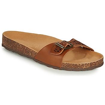 Schuhe Damen Sandalen / Sandaletten André BRIONI Camel