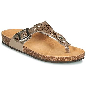 Schuhe Damen Sandalen / Sandaletten André RILA Gold