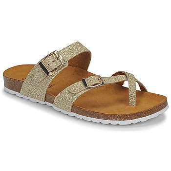 Schuhe Damen Sandalen / Sandaletten André REJANE Gold