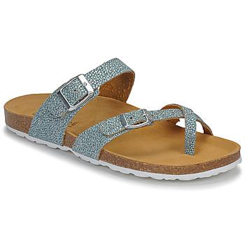 Schuhe Damen Sandalen / Sandaletten André REJANE Blau